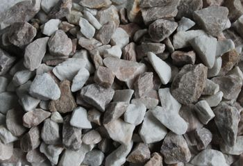 Decorative crushed stone, mix 2