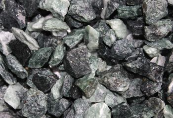 Decorative crushed stone, green 8-16mm
